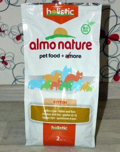 Отзыв о корме для котят Almo Nature