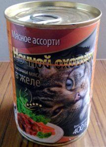Отзывы о корме для кошек Ночной охотник