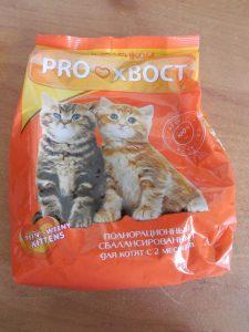 Отзывы о корме для кошек Прохвост