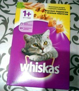 Отзывы о корме для кошек Вискас