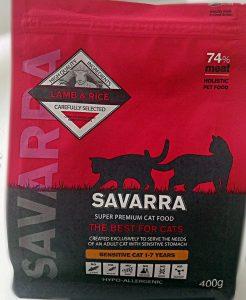 Отзывы о сухом корме для кошек Savarra