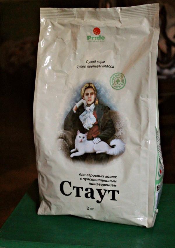 Отзывы о сухом корме для кошек Стаут