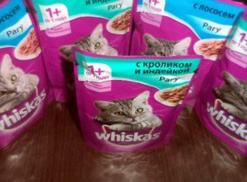 Отзывы о влажном корме для кошек Вискас