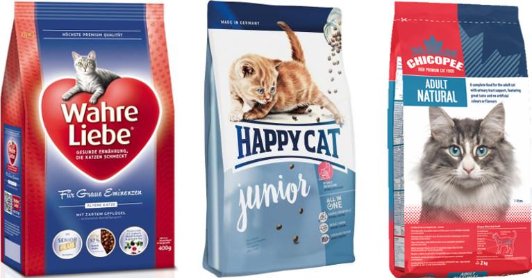 Список кормов премиум класса для кошек