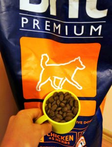 Корм Brit Premium для активных собак
