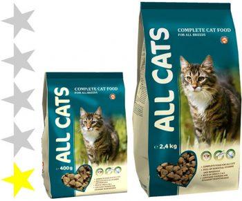 Корм для кошек All Cats