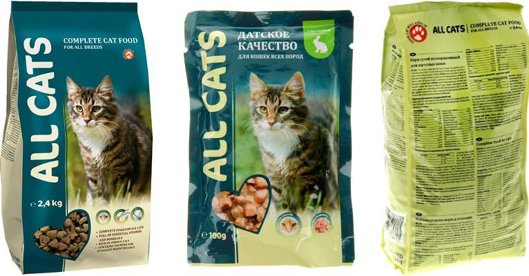 Корм для кошек All Cats - отзывы