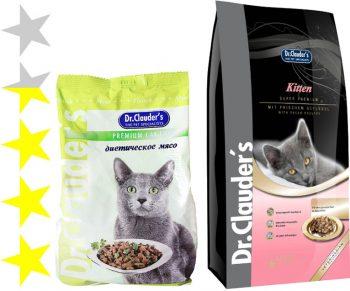 Корм для кошек Dr Сlauder's