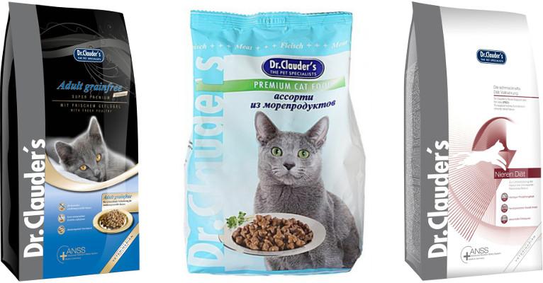 Корм для кошек Dr Сlauder's - отзывы