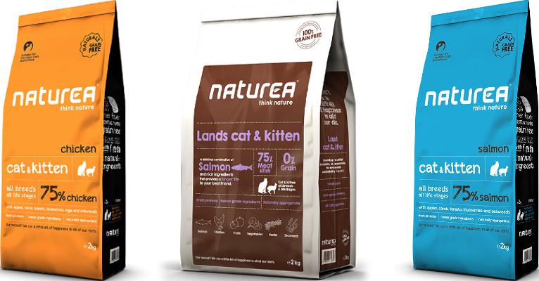 Корм для кошек Naturea - отзывы