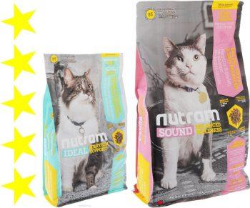 Корм для кошек Nutram