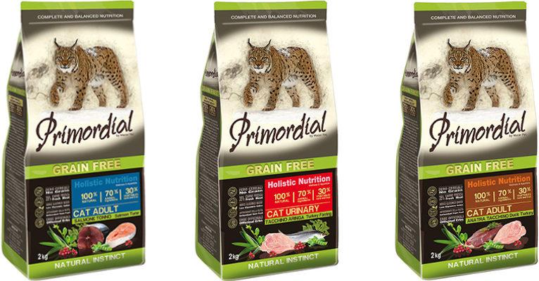 Корм для кошек Primordial - отзывы