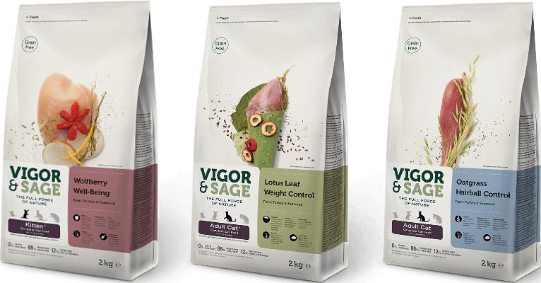 Корм для кошек Vigor & Sage - отзывы