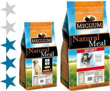 Корм для собак Meglium