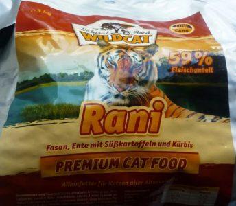 Отзыв о корме для котов Wildcat