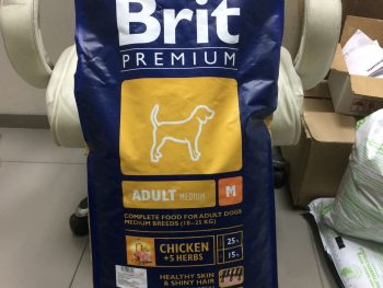 Отзывы о корме Brit Premium для собак средних пород