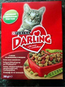 Отзывы о корме Дарлинг для кошек
