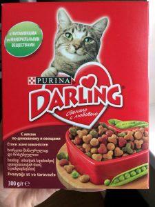 Отзывы о корме для кошек Darling