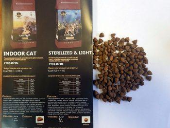 Отзывы о корме для кошек Landor