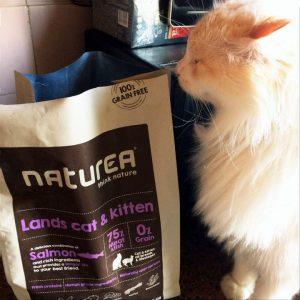 Отзывы о корме для кошек Naturea