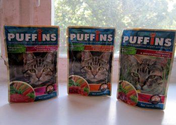 Отзывы о корме для кошек Пуффинс