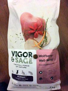 Отзывы о корме для кошек Vigor & Sage