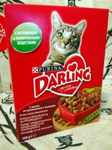 Отзывы о корме для котов Дарлинг