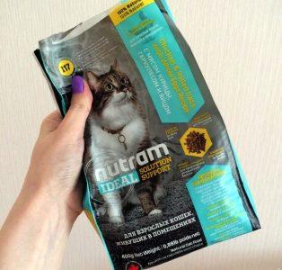 Отзывы о сухом корме для кошек Nutram