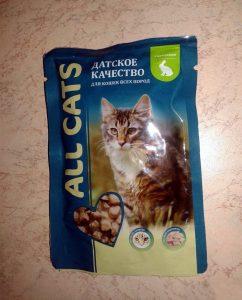 Отзывы о влажном корме All Cats