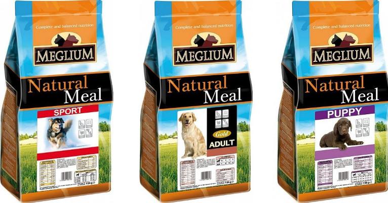 Состав корма для собак Meglium - отзывы