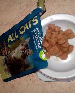 Влажный корм для кошек All Cats