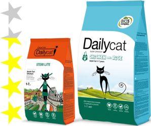 Корм для кошек DailyCat: отзывы, разбор состава, цена