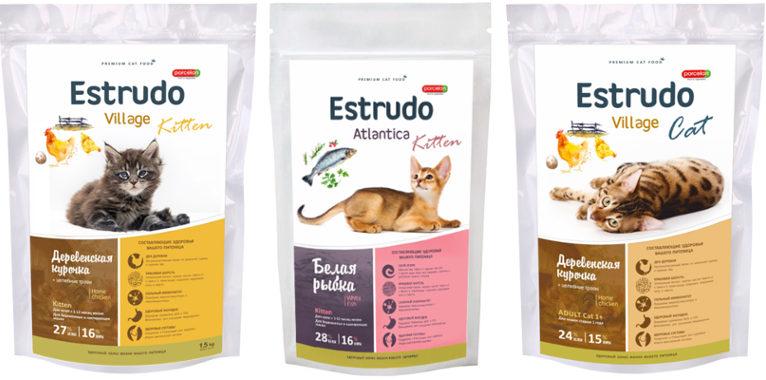 Корм для кошек Estrudo - отзывы