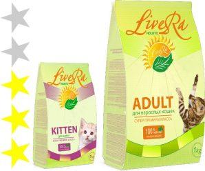 Корм для кошек LiveRa: отзывы и разбор состава