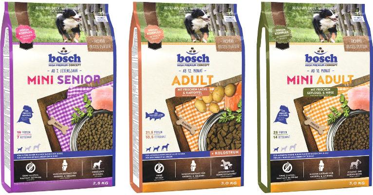 Корм для собак Bosch - отзывы
