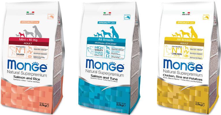 Корм для собак Monge - отзывы
