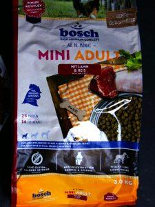 Отзыв о корме Bosch для мелких пород
