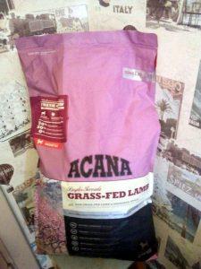 Отзывы о корме для собак Acana с ягненком
