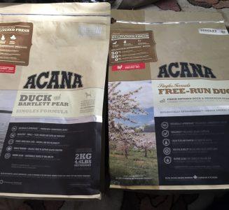 Отзывы о корме для собак Акана с уткой