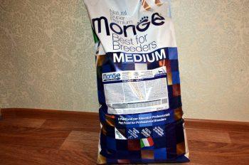 Отзывы о корме для собак Monge