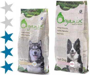 Корм для собак Organix