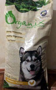Отзывы о корме для собак Organix
