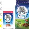 Корм для кошек PreVital: отзывы, разбор состава, цена