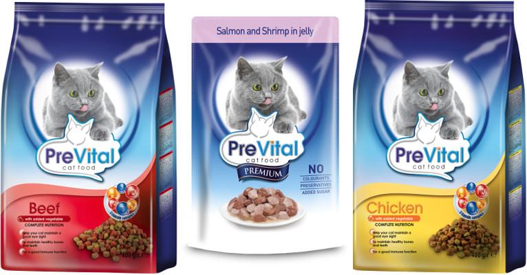 Корм для кошек PreVital - отзывы