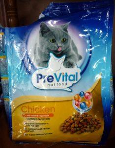 Отзыв о корме для кошек PreVital