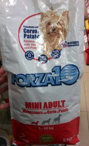 Отзыв о корме для собак Forza10