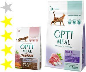 Корм для кошек Optimeal: отзывы, разбор состава, цена