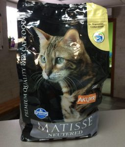 Отзывы о корме для кошек Matisse