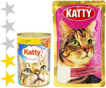 Корм для кошек Katty