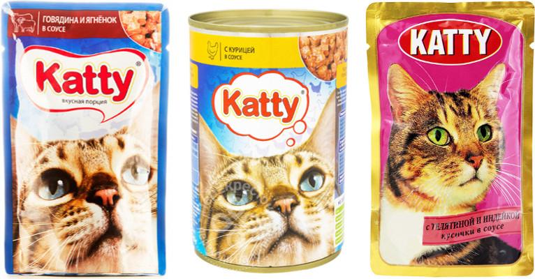 Корм для кошек Katty - отзывы